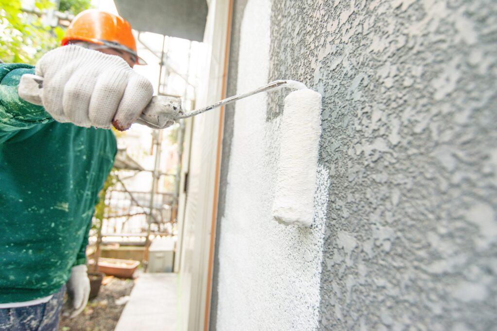 防水効果の高い塗料を使うことで美観性も防水性も高まり家の長寿命化に貢献します